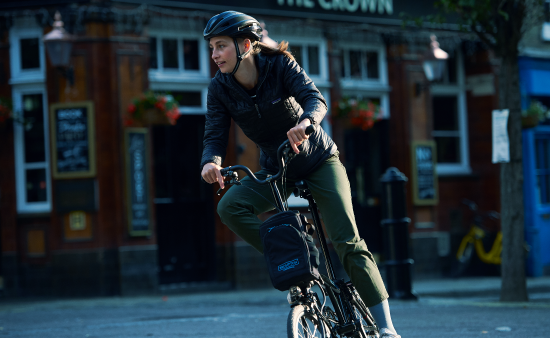 Brompton Electric fold bike