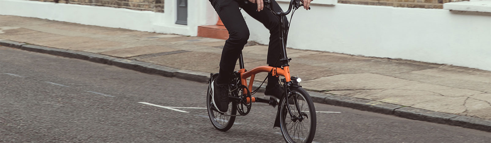 Brompton Black Edition folding bike