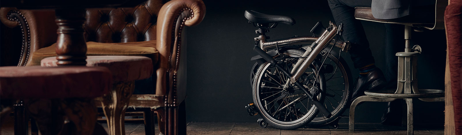 Brompton Nickel Edition folding bike
