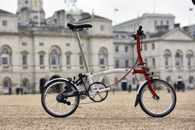 Brompton world championships folding bike
