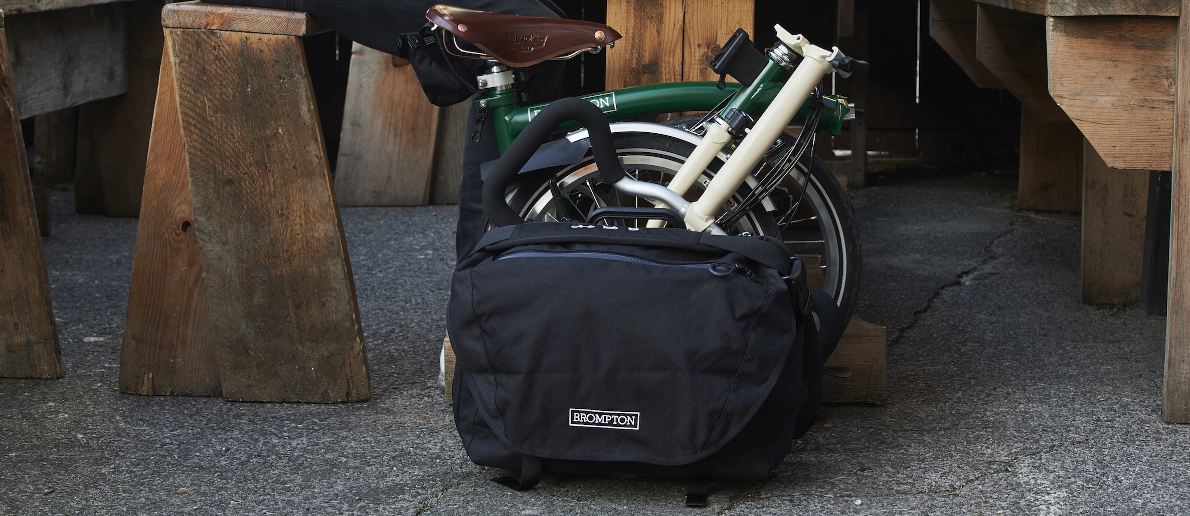 The Brompton Luggage System