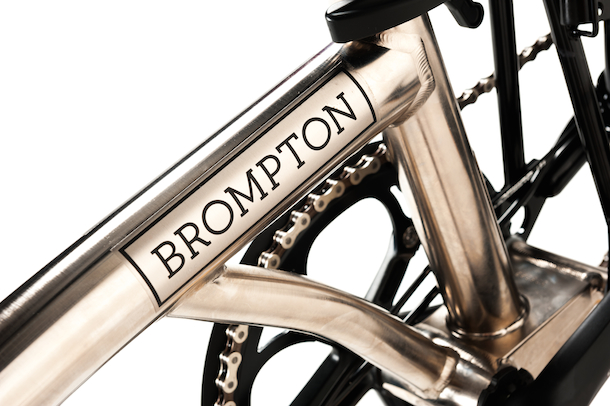 Close Up Brompton Nickel Edition