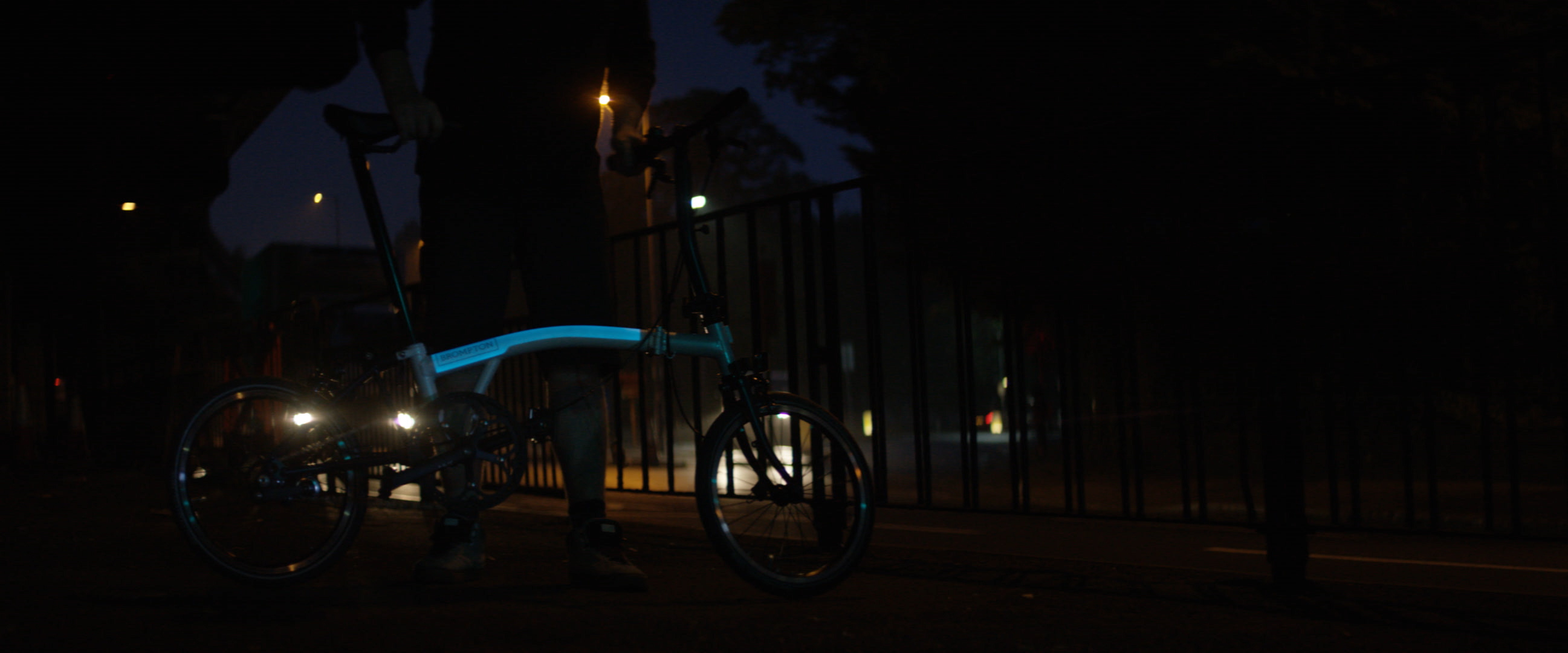Safer riding at night