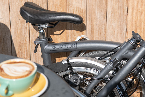 Brompton 2020 New Colours - Metallic Graphite