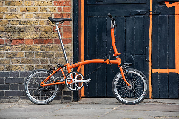 Brompton 2020 New Colours - Orange