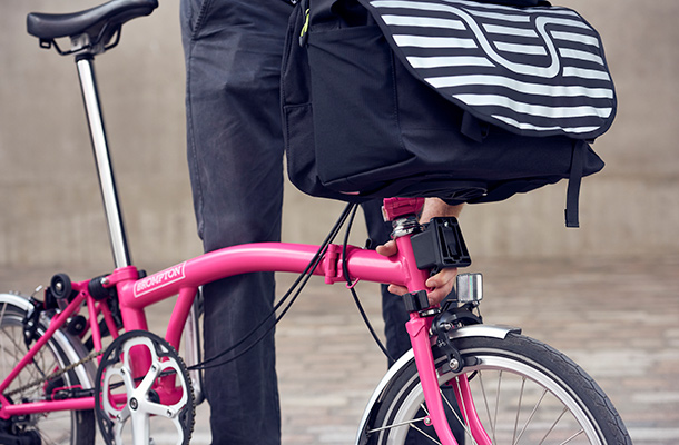 Brompton Bags fitting system image