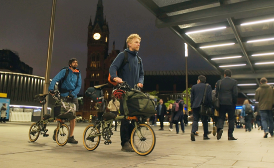 Explore London at Night Brompton Bicycle Event