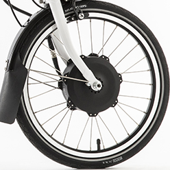 folding electric bike motor