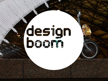 folding bike designboom logo
