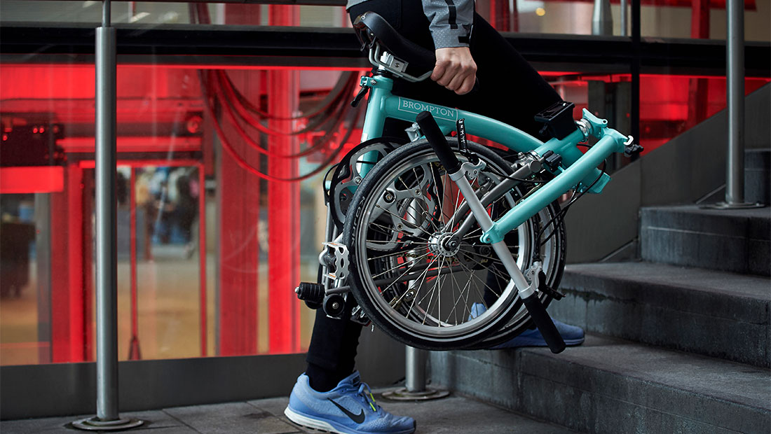 Superlight folding bike