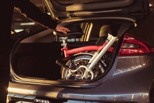 6 Places You Can Take Your Brompton, folding bike, Brompton Bicycle, Brompton in a boot