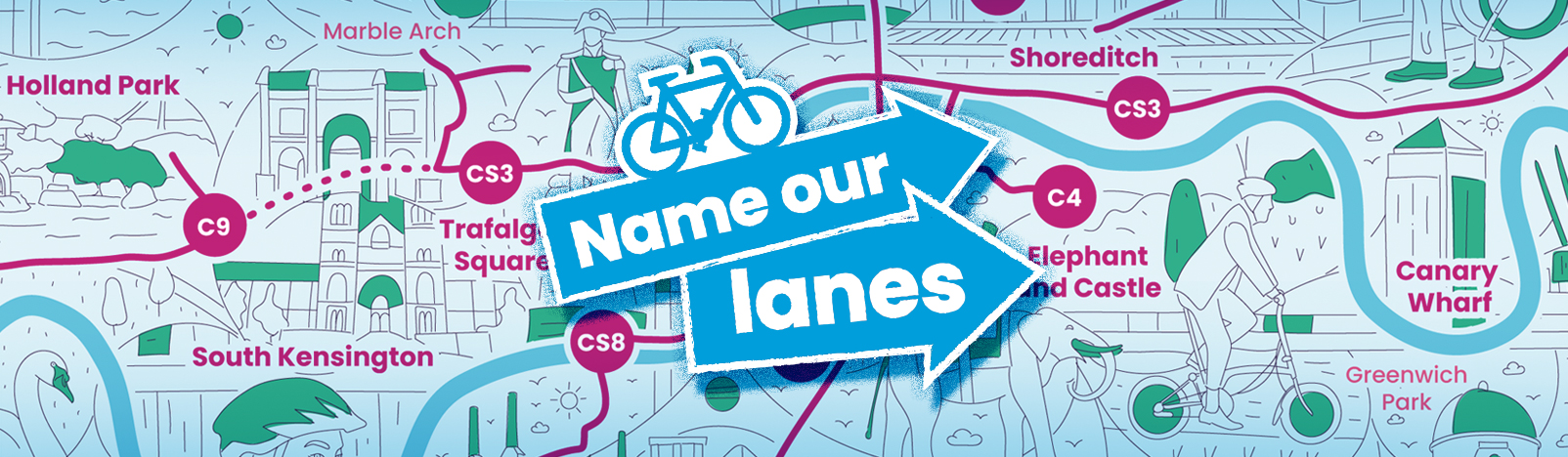 Name Our Lanes, Brompton Bicycle Possible climate charity